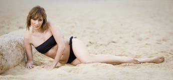 Swimwear girl Royalty Free Stock Images