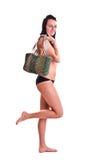 swimwear kobieta Obrazy Royalty Free