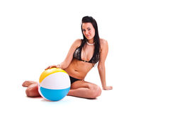 swimwear kobieta zdjęcie stock
