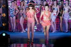 swimwear pierwszy chybienie Jiangxi Międzynarodowy konkurs Zdjęcie Royalty Free