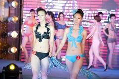 swimwear pierwszy chybienie Jiangxi Międzynarodowy konkurs Zdjęcie Stock
