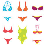 Swimwear set Stock Photo