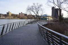 Swindler Cove 30. This park is located in the Inwood neighborhood of Manhattan Stock Photos