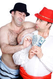The swindler and the swindler Stock Photography