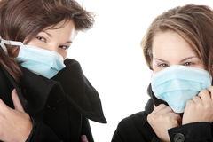 swine гриппа Стоковые Фотографии RF