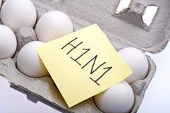 swine гриппа h1n1 Стоковое Фото