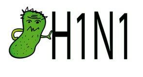 swine гриппа vector вирус Стоковое Фото