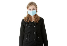 swine инфекции гриппа Стоковая Фотография