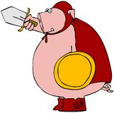 Swine Fighter Stock Image