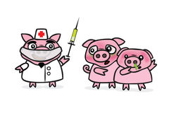 Swine Flu Royalty Free Stock Photo