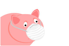 Swine flu Royalty Free Stock Image