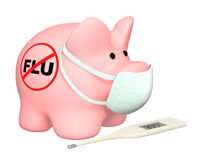 Swine flu Royalty Free Stock Images