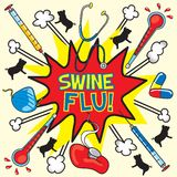Swine flu! Stock Images