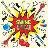 Swine flu! Stock Images
