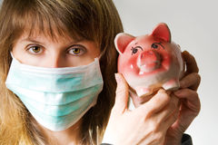 Swine flu Stock Image