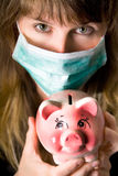Swine flu Stock Photo