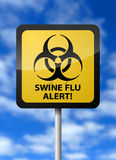 Swine Flu Alert Stock Photo