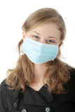 'Swine Flu' infection. Stock Photos