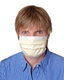 Swine flu protection Royalty Free Stock Images