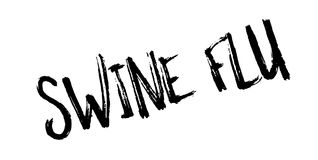 Swine Flu rubber stamp. Grunge design with dust scratches. Effects can be easily removed for a clean, crisp look. Color is easily changed Stock Photos