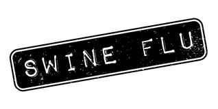 Swine Flu rubber stamp. Grunge design with dust scratches. Effects can be easily removed for a clean, crisp look. Color is easily changed Stock Image