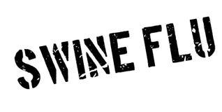 Swine flu rubber stamp Stock Photography