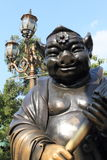 Swine god of Wong Tai Sin Temple Stock Photo