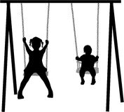 On the swing Stock Photography