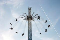 Swing. In funfair,Istanbul,Turkey royalty free stock image