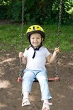 On the swing Royalty Free Stock Photos