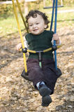 On a swing. Stock Photography