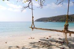 Swing at Ao Wai beach Stock Images