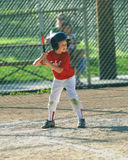 Swing batter Stock Image