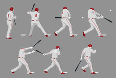 Swing Batter stock images