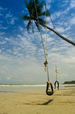 Swing on the beach Royalty Free Stock Image