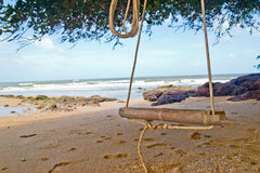 Swing on the beach at Similan island, Royalty Free Stock Photos