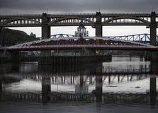 Swing Bridge Royalty Free Stock Photography