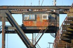 Swing Bridge Operating Station Stock Photo