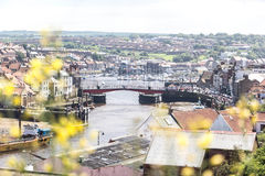 The swing bridge of Whitby. Whitby, North Yorkshire, United Kingdom Stock Photography
