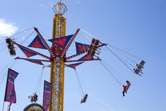 Swing carnival ride Royalty Free Stock Images