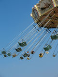 Swing carousel Stock Photography