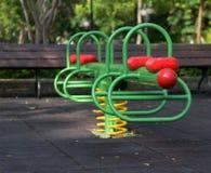 Swing carousel. In the park for children Stock Images