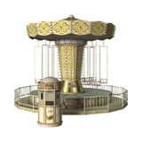 Swing Carousel Ride Stock Images