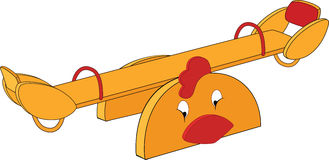 Swing. Cartoon Stock Photography
