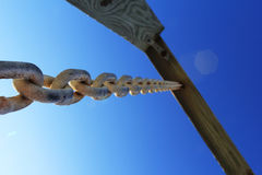 Swing chain Royalty Free Stock Images