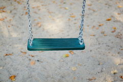 Swing on chains Stock Images