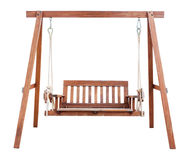 Swing chair isolated Royalty Free Stock Image