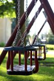 Swing. For children in the garden Royalty Free Stock Image