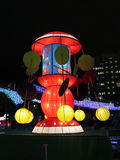 Swing Chinese Lantern - Mid Autumn Festival Royalty Free Stock Image