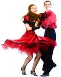 Swing dancers Royalty Free Stock Photo